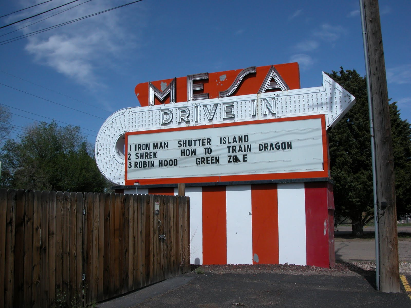 Drive in theater montrose co