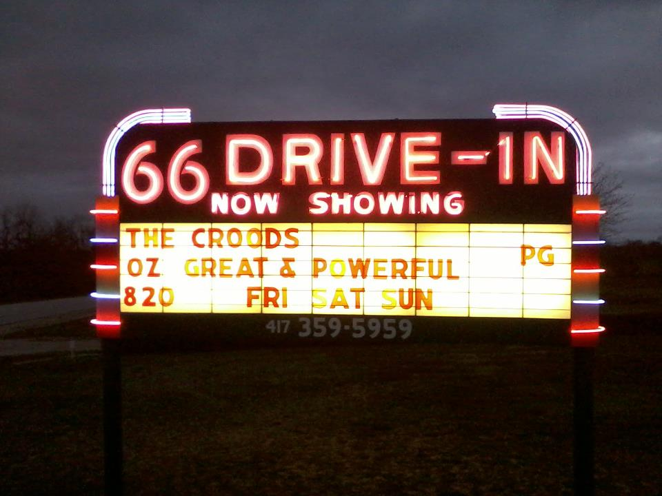 Shelby drive in movie theater