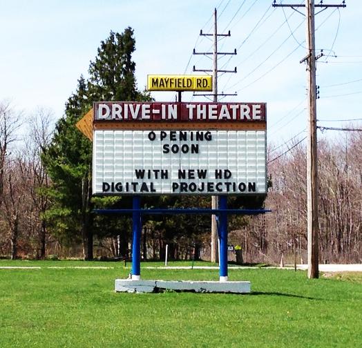 Ohio drive in movie theatres